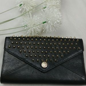 Rebecca Minkoff Flirty Smooth Black Leather Stud S